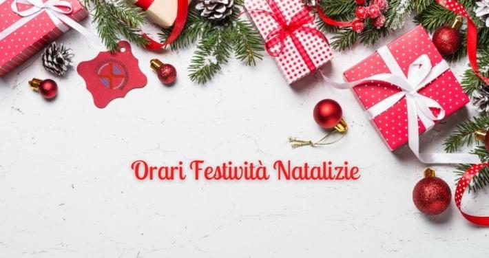 Cab Orari Festività Natalizie